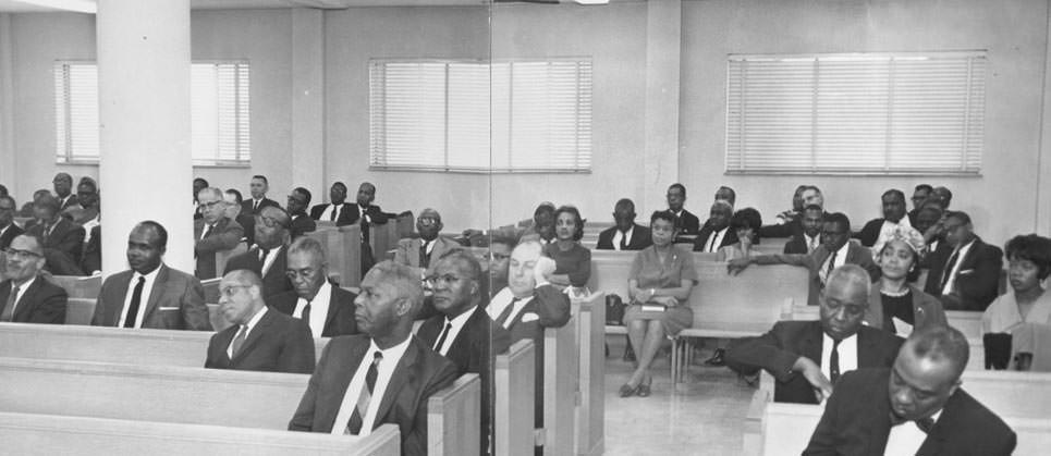 ITC Students in the Chapel (1965)