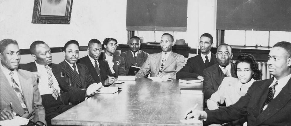 Executive Committee Student Christian league (08/03/1948)