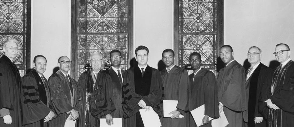 Inauguration service for Theta Phi (4/11/1961)